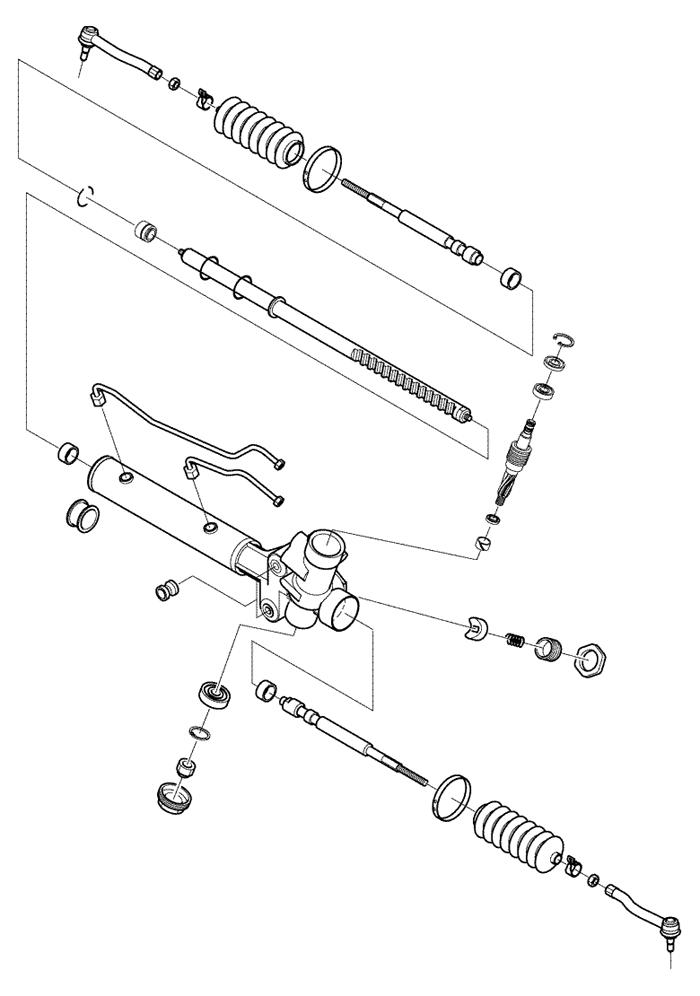 Ремонт рулевой рейки своими руками шевроле лачетти