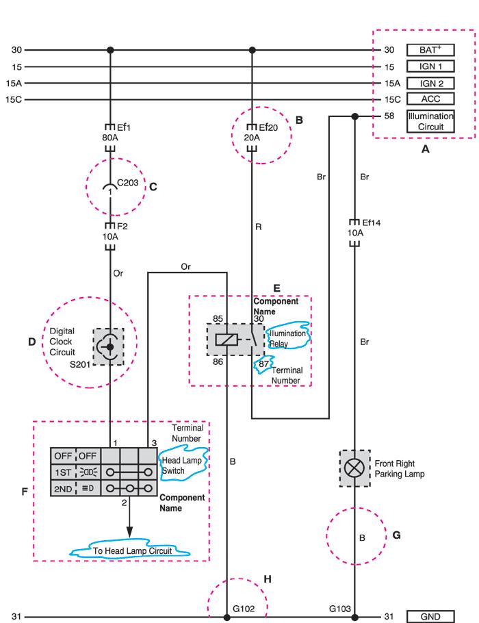 схема часов chevrolet лачетти