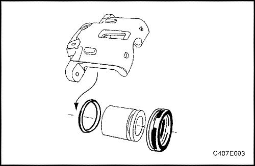 разбираем задний тормозной цилиндр chevrolet lacetti
