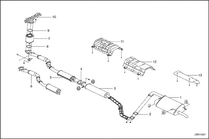 Выпускная (выхлопная) система