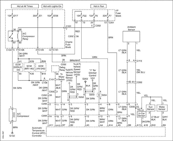 Схема вентилятора кондиционера