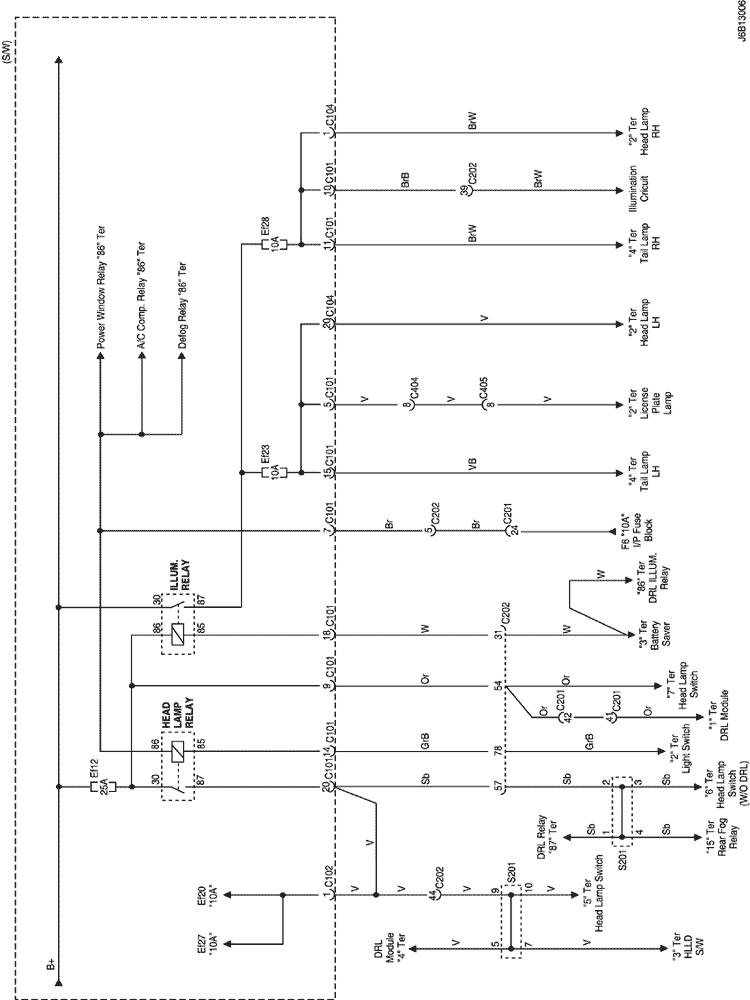 Lacetti: Замена ламп накаливания комбинации приборов 939