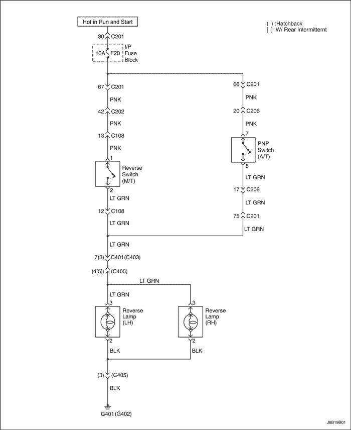 Электрические схемы системы