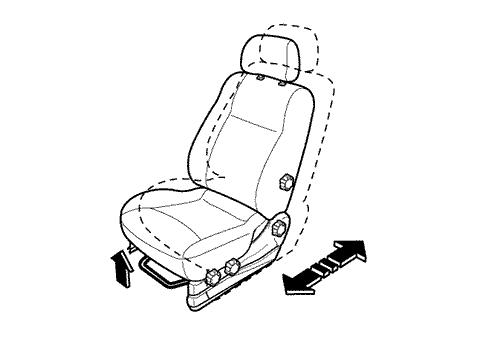 chevrolet lacetti регулировка высоты сидения